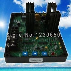 Universal brushless generator spare part Automatic Voltage Regulator AVR GAVR 20A