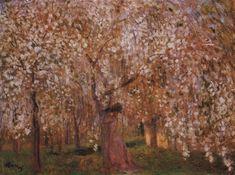 Cherry tree blooms (József Rippl-Rónai - 1903)
