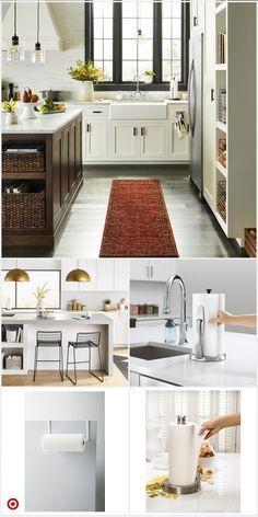 Shop Target for pape Kitchen Redo, Home Decor Kitchen, Country Kitchen, New Kitchen, Home Kitchens, Kitchen Remodel, Kitchen Design, Decoration, Home Remodeling