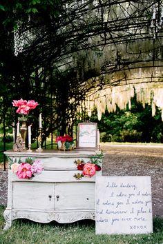 wedding reception rentals - photo by Justina Louise Photography http://ruffledblog.com/willamette-valley-vineyard-wedding-shoot