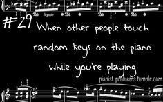 No one better touch the piano when I'm playing. It's my piano at that time. Music Jokes, Music Humor, Funny Music, Sound Of Music, Music Is Life, Rock 13, Piano Quotes, Piano Memes, Band Jokes