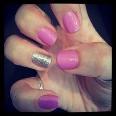 Pink/Purple and Glitter
