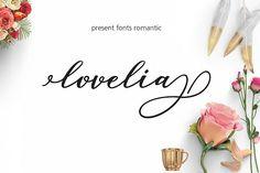 Lovelia Script & Comic - Free Font of The Week from FontBundles.net