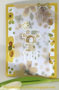 Handmade by Fanny: All you need is love. All You Need Is Love, Thinking Of You, Stampin Up, Blog, Frame, Material, Handmade, Decor, Paper