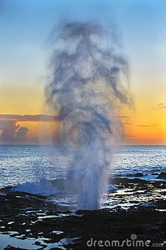 Kauai, Hawaii - The Spouting Horn. Been once before, will go again in a heartbeat!