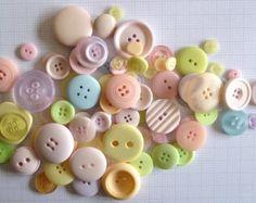 Bebé ducha botón carta personalizada carta por ArtCreationsByJess