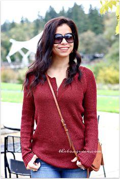 Stitch Fix Reviews, Stitch Fix Zipper Sweater, Winter Style