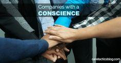 Companies with a Conscience | caretacticsblog.com