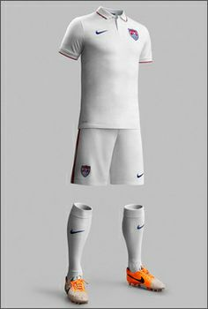 USA World Cup 2014 kit! All I need are the socks and shorts! Pretty classy in person.