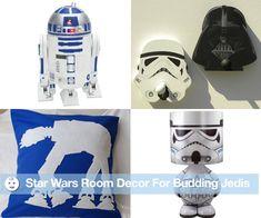 Star Wars Room Decor For Sleeping Jedis - www.lilsugar.com