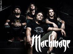 Resenha do Rock: Machinage: se despedindo do Brasil com novo lyric ...