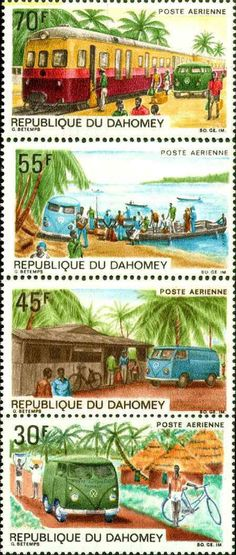 vw bus stamps