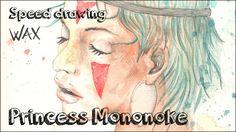 Princess Mononoke (Hayao Miyazaki) - Speed drawing