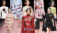 Image issue du site Web http://ffaasstt.swide.com/wp-content/uploads/2015/03/dolce-and-gabbana-fall-winter-2015-2016-women-fashion-show-review-and-inspiration-slogans.jpg