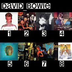 David Bowie album co