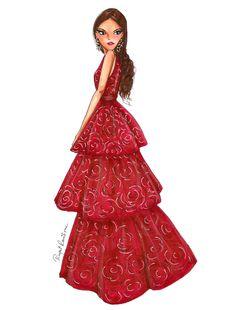 Zendaya in Marchesa Fashion!