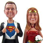 custom cake toppers i would be black widow though...:)