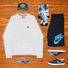 Outfit grid - Nike streetwear