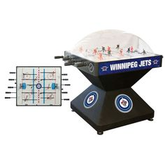 Winnipeg Jets Deluxe Game Room Dome Hockey Table