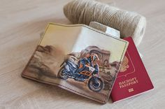 Excited to share the latest addition to my #etsy shop: Passport Holder Motorcycle case Travel holder Document case Enduro Carving Passport Leather gift Case Personalised Travel bag Travel gift https://etsy.me/2zwxi4R #bagsandpurses #passportholder #passportcover #passp