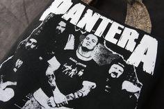 Pantera  Upcycled Rock Band Tshirt Tote Bag OOAK by evilrose, $30.00