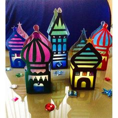 Assembler Diy Arts And Crafts, Handmade Crafts, Crafts For Kids, Ramadan Crafts, Ramadan Decorations, Decoraciones Ramadan, Diy Paper, Paper Crafts, Diy Cards
