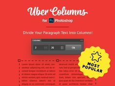 UberColumns Extension for Photoshop by Anton Lyubushkin