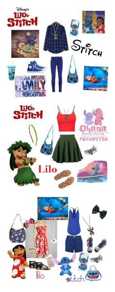 """My Lilo and Stitch inspired outfits"" by ellie-may346 on Polyvore featuring WithChic, M Missoni, Converse, Disney, Topshop, Yves Saint Laurent, Billabong, Gina Made It, Casetify and Miss Selfridge"