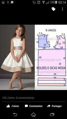 Kids Dress Patterns, Sewing Patterns For Kids, Clothing Patterns, Frocks For Girls, Little Girl Dresses, Flower Girl Dresses, Toddler Pageant, Girls Bridesmaid Dresses, Baby Dress Design