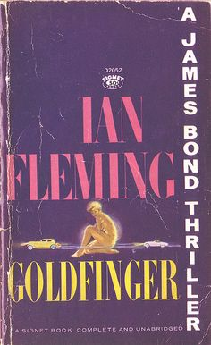 Check out Pete's review of Ian Fleming's Goldfinger here: http://chaptersandscenes.wordpress.com/2014/08/03/pete-reviews-goldfinger/