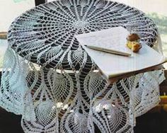 Tablecloth Freshness  crochet patterns