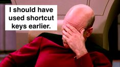 It's 64 hours every year you've lost if you're not using keyboard shortcuts!
