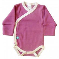 Body Kimono LS Lila/Blanco