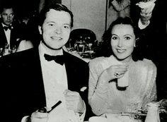 Orson Welles and Dolores Del Rio