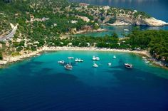 Thassos, Greece, Presented To Air France Passengers