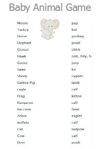 8 Best Free Baby Shower Games Images On Pinterest