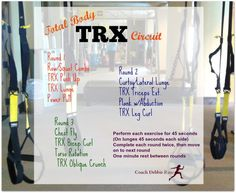 Do you love functional training? Here's a fun TRX circuit workout to try! Do you love functional training? Here's a fun TRX circuit workout to try! It's challenging, but Running Workouts, Fun Workouts, Trx Workout, Workout Ideas, Exercise Routines, Exercise Cardio, Weight Workouts, Body Workouts, Workout Fitness