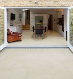 Neranjo Limestone in a etched finish. With the etched, low-slip finish these limestone tiles are especially suitable for outside uses such as patios and swimming-pool surrounds.