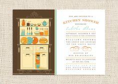 Kitchen Shower Invite