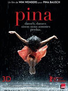 PINA : Film pour Pina Bausch, porté par l'ensemble du Tanztheater Wuppertal et l'art singulier de sa chorégraphe disparue à l'été 2009.