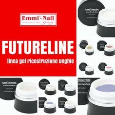 #EmmiNail #Futureline, gel da ricostruzione unghie di nuova generazione. Una linea professionale completa con prodotti privi di acidi e dermocompatibili, di semplice applicazione, precisa e sicura, adatti soprattutto alle unghie problematiche.