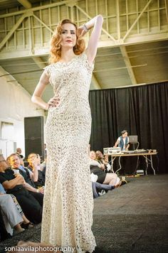 Shades Company: Gold & White Embroidered Lace by ShadesCOMPANY #shadescompany #queerfashionweek