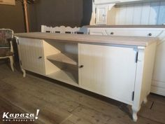 Landelijk tv meubel met queen anne poten, TV meubels, Antwerpen | Kapaza.be