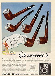 Vintage Ad (c. 1950s): Kaywoodie Gale