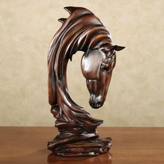 equine sculptures | Home > Horse Solitude Table Sculpture
