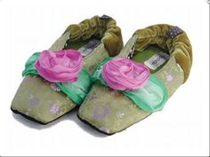 836a5b67c84 Goody Goody Bon Bon slippers feature patterned silk