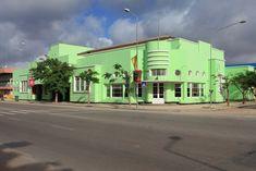 Cinema Imperium, built in the 50's---Benguele, Angola, Africa.