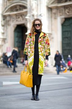 See the best street style looks at Milan Fashion Week right here: