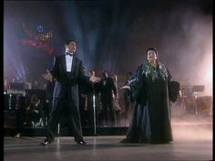Two of the best voices together - Freddy Mercury and Monserrat Caballe singing Barcelona. I miss Freddy's voice.