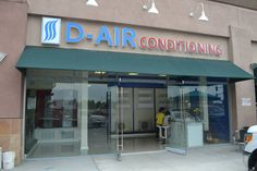 D Air Conditioning is Orange County's premiere residential and commercial HVAC contractor. With over 20 years of experience, D-Air specializes in ductless mini split and central air conditioning. Commercial Air Conditioning, Air Conditioning Companies, Heating And Air Conditioning, Outdoor Electrical Wire, Porch Railing Designs, Heat Pump Air Conditioner, Commercial Hvac, Air Conditioning Installation, Showroom Design